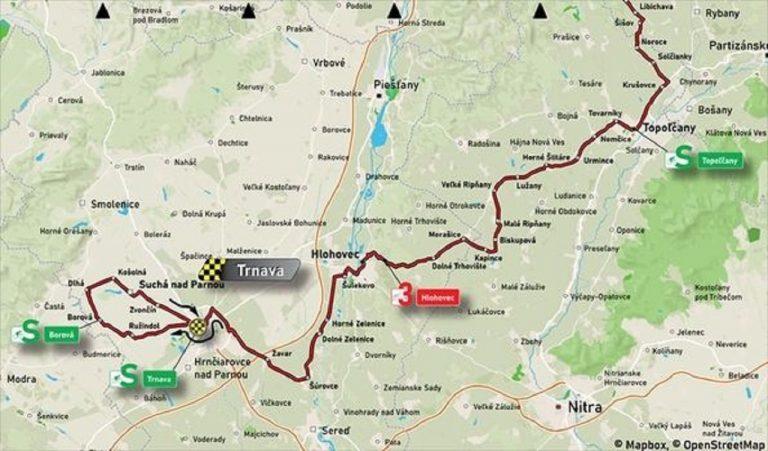 Počas cyklistických pretekov budú v Trnavskom kraji dopravné obmedzenia