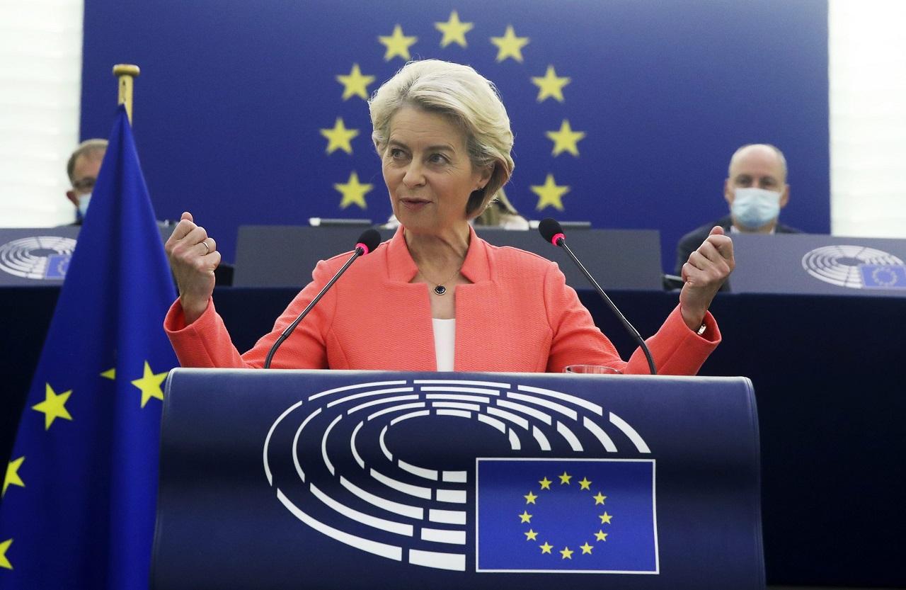 Ursula von der Leyenová prejav o stave Únie
