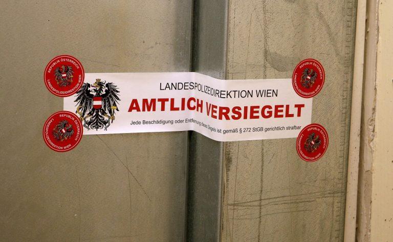 Rakúsko polícia