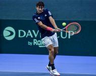 Na snímke čilský tenista Cristian Garin