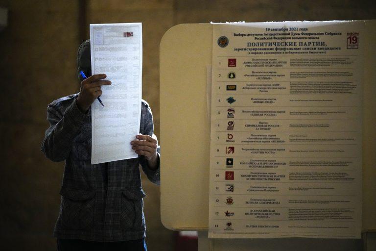 Parlamentné voľby v Rusku