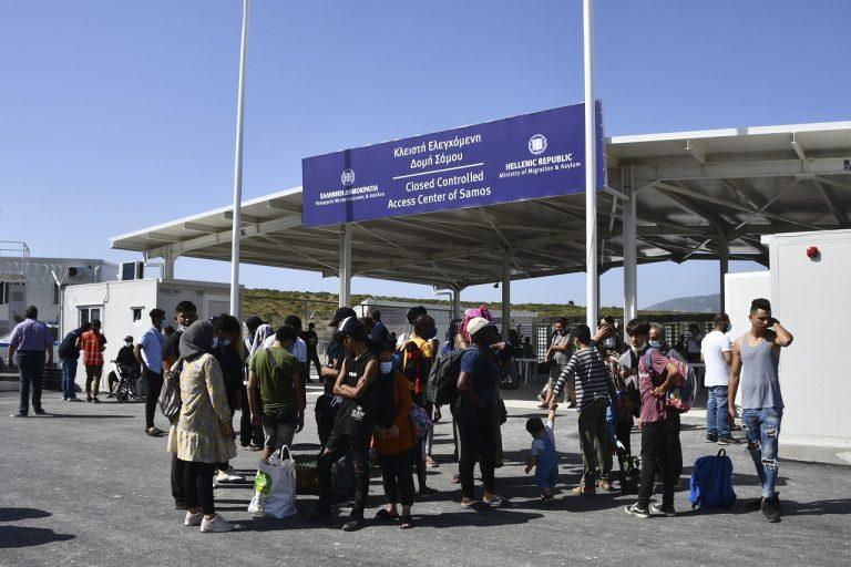 """uzavretý"""" tábor pre imigrantov"""
