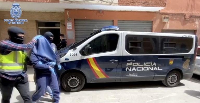 Španielska polícia