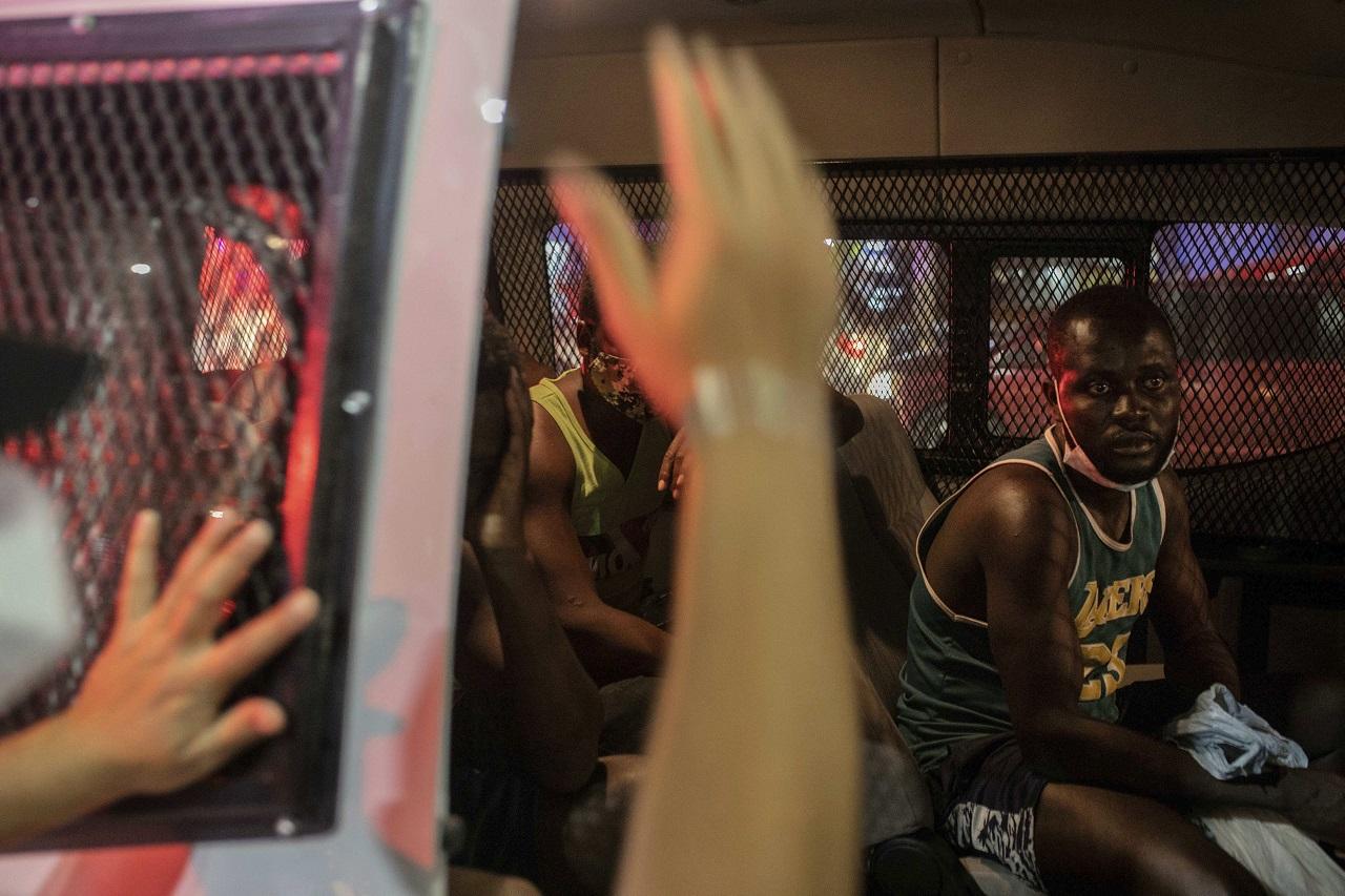 Haiťania deportácie