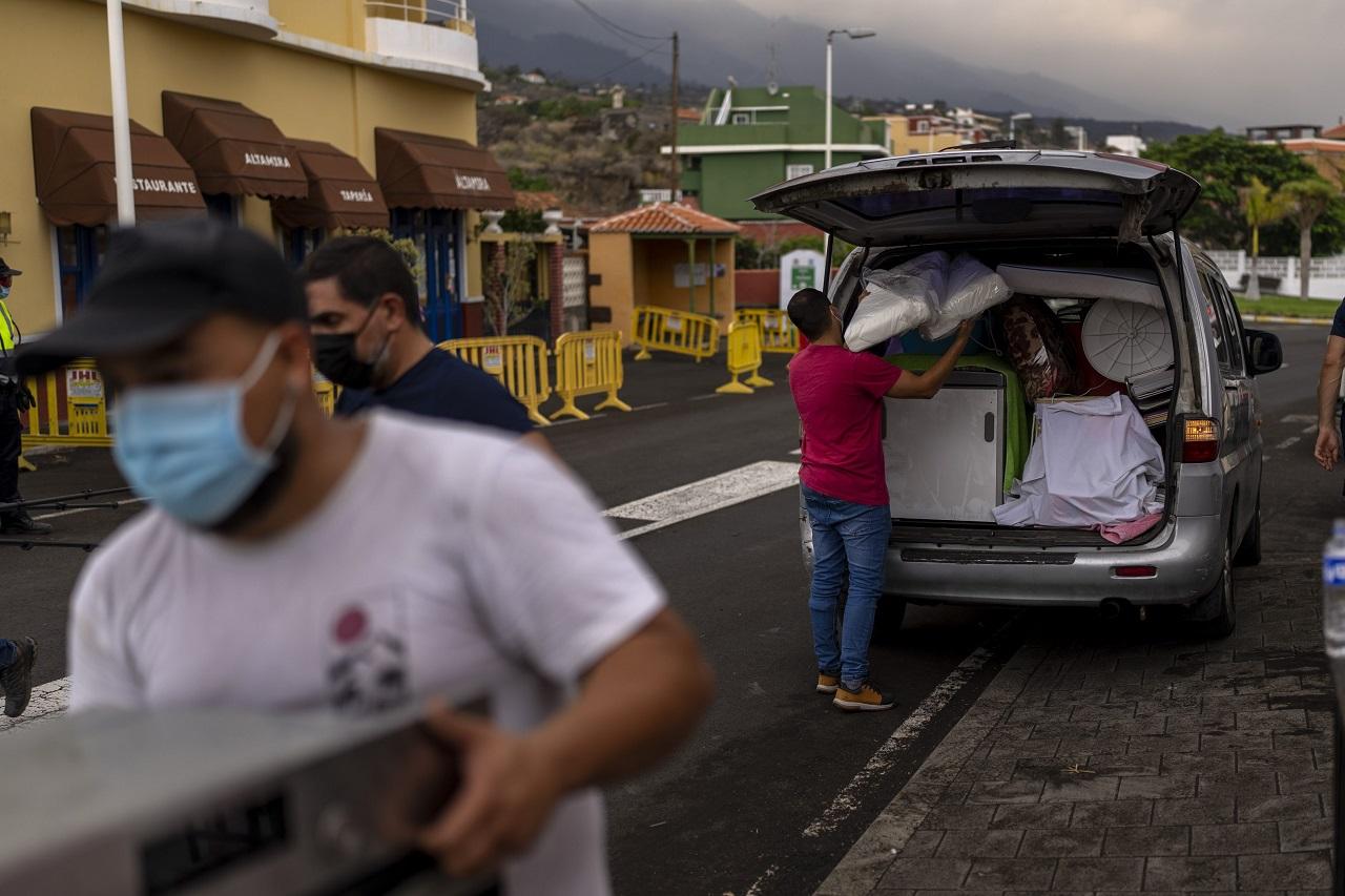 sopka La Cumbre Vieja