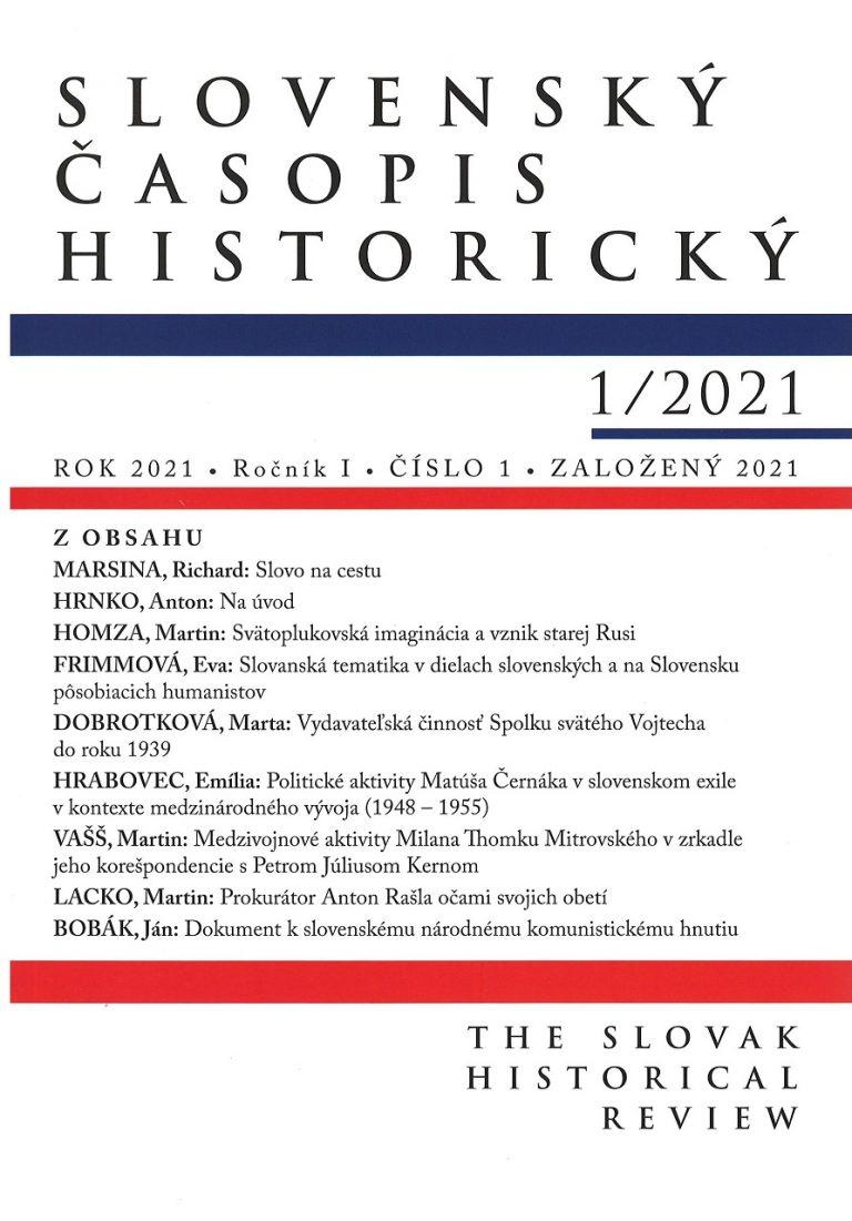 Slovenský časopis historický