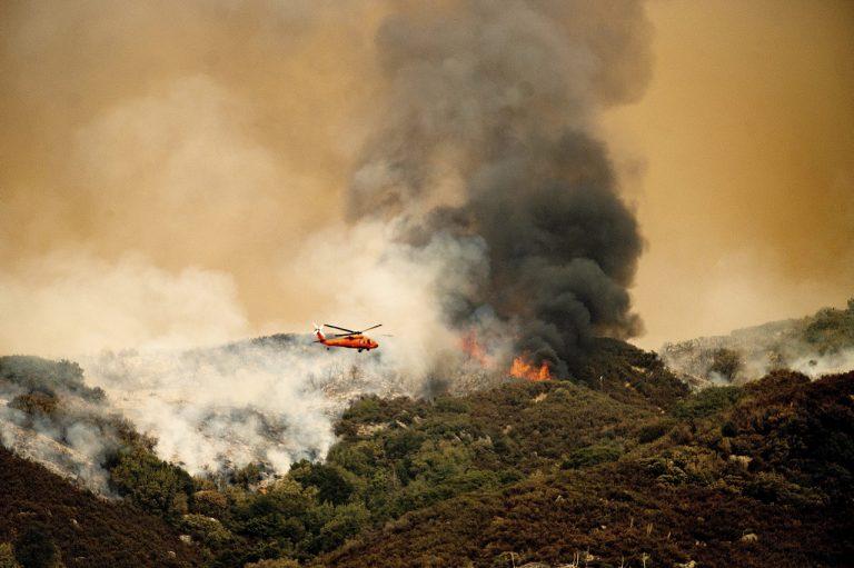 USA požiare sekvoje ohrozenie