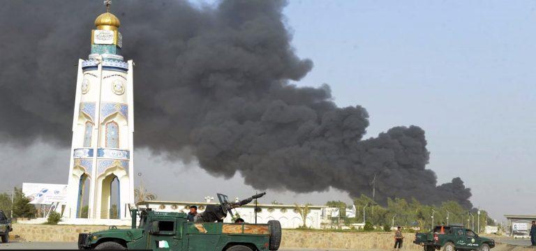 Afganistan výbuchy