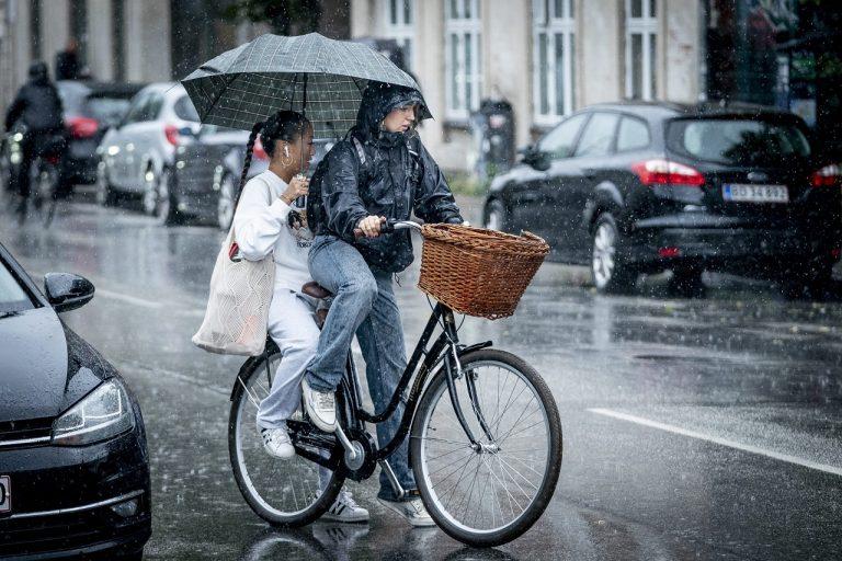 dážď upršané počasie