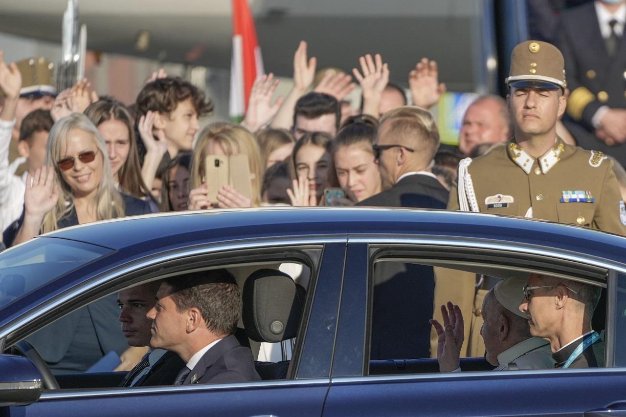 Maďarsko pápež František návšteva