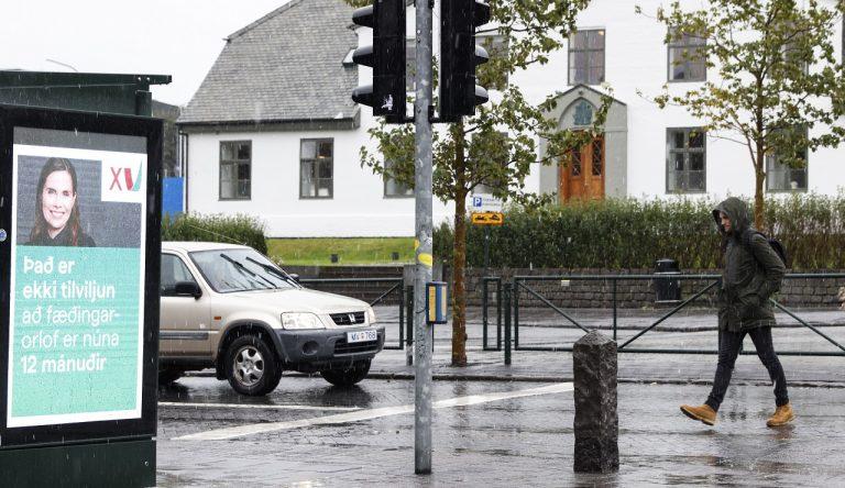 voľby na Islande