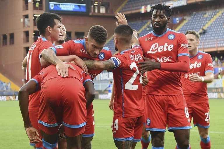 Sampdoria Janov - SSC Neapol