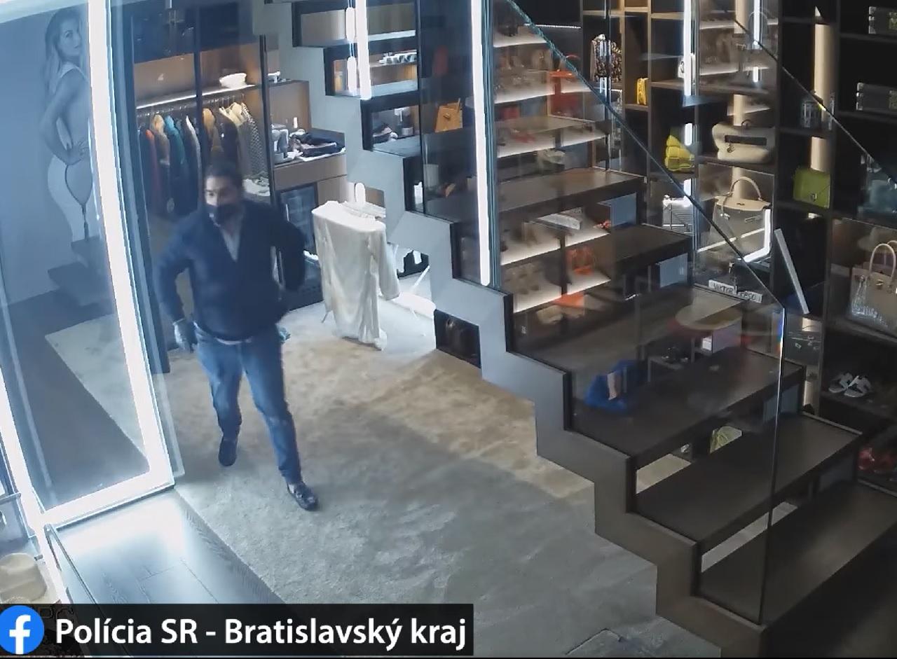 krádež, polícia vyšetruje