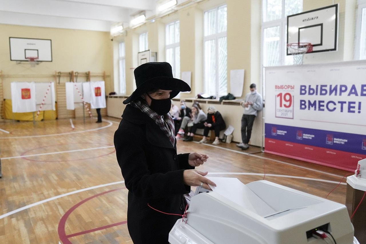 Rusko voľby Štátna duma parlament