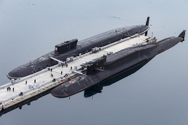 ruské jadrové ponorky