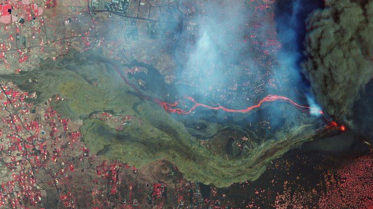 La Palma sopka erupcia