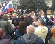 Začiatok protestu v Košiciach