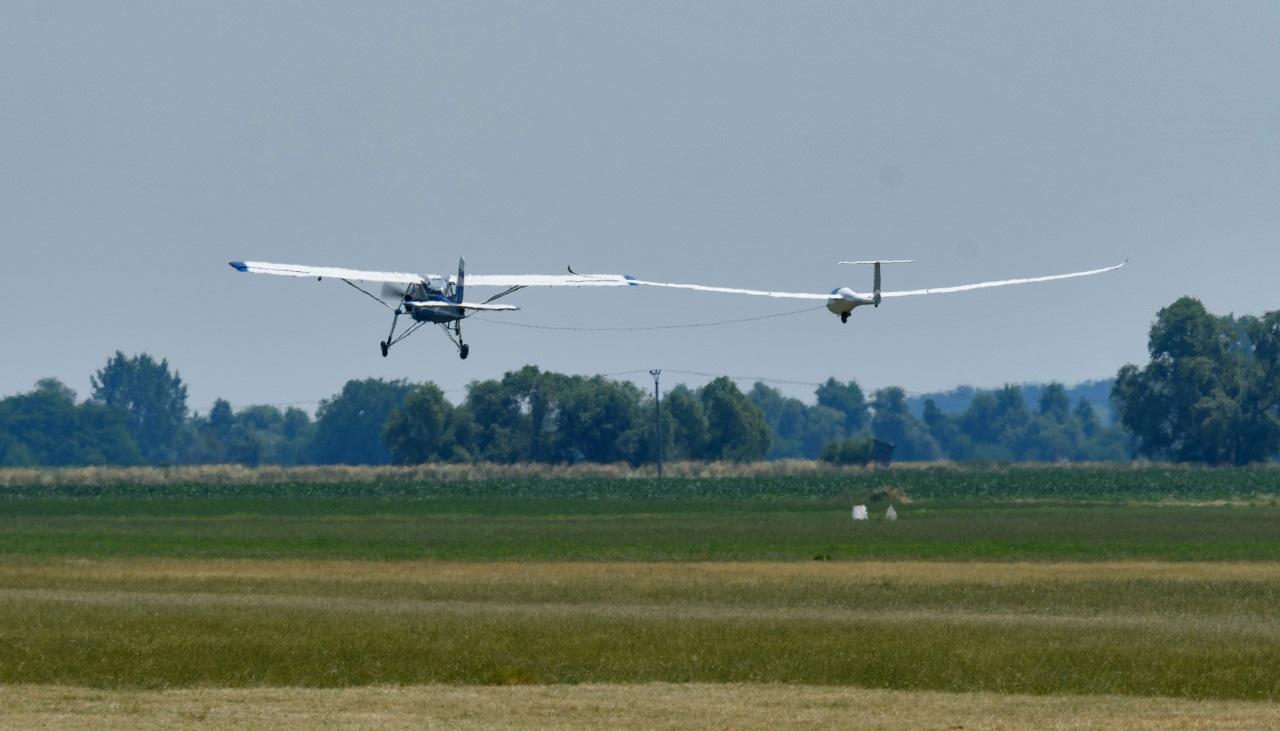 lietadlo bezmotorové lietanie