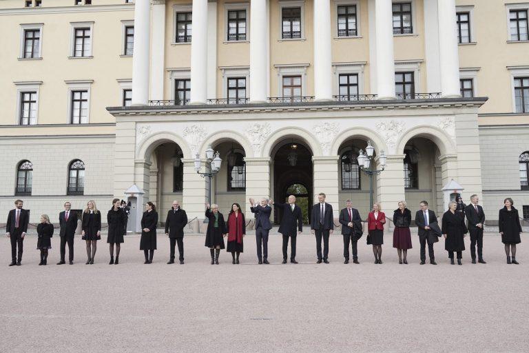 nórska vláda