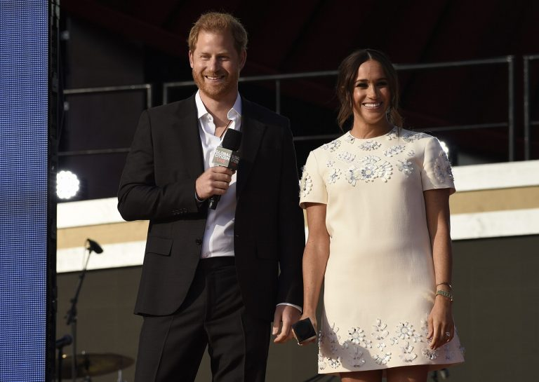 princ Harry a princezná Meghan